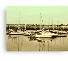 Province of Quebec Marina Canvas Print
