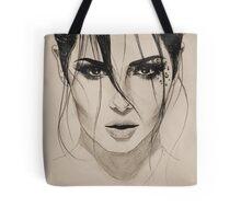 Cheryl - Only Human illustration Tote Bag