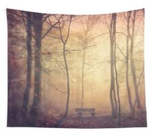 bench Wall Tapestry
