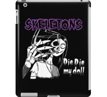 Die die my doll iPad Case/Skin