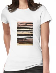 Vintage Background Womens Fitted T-Shirt