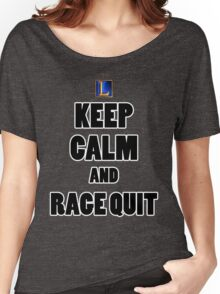 League of Legends: Keep Calm And Rage Quit Women's Relaxed Fit T-Shirt