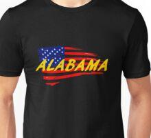 Alabama United States Flag T Shirt and Hoodie Unisex T-Shirt