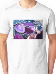 Purple Stones Unisex T-Shirt