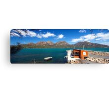 The Hazards From Coles Bay Canvas Print