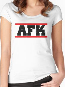 Afk Women's Fitted Scoop T-Shirt
