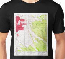 USGS TOPO Map Arizona AZ Tucson East 313821 1957 24000 Unisex T-Shirt