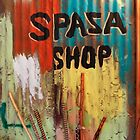 Spaza Shop Sign by James Eddy