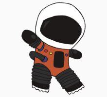 Tiny astronaut by catastrophicjue