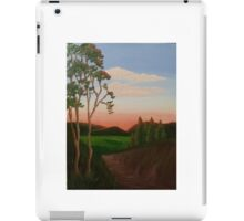 Sunset in the valley iPad Case/Skin