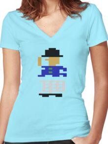 ATARI KEYSTONE KAPERS (3)  Women's Fitted V-Neck T-Shirt