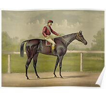 Grand Racer Kingston - Vintage Horse Racing  Poster