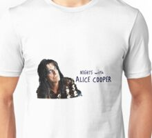 nights with alice cooper Unisex T-Shirt