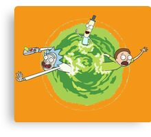 Rick and Morty 2 Canvas Print