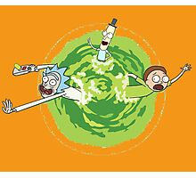 Rick and Morty 2 Photographic Print
