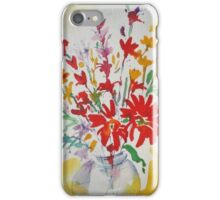 Flowers in a Jar iPhone Case/Skin