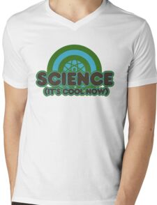Science it's cool now Mens V-Neck T-Shirt
