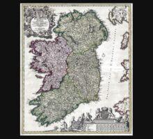 Ireland - Geographicus Ireland - Homann - 1716 Kids Tee