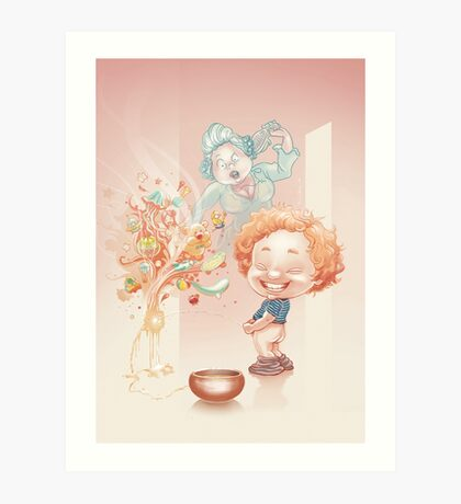 The Little Dreamer Art Print