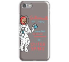 Scientific Astronauts iPhone Case/Skin