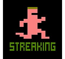 ATARI PITFALL STREAKING Photographic Print