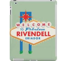 Welcome to Rivendell iPad Case/Skin