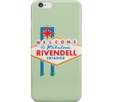 Welcome to Rivendell iPhone Case/Skin