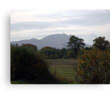 The Wrekin in Autumn, Telford Shropshire Canvas Print