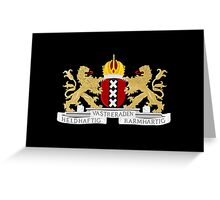Coat of arms of Amsterdam Greeting Card