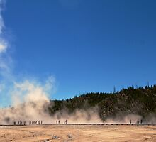 Grand Prismatic Crowd by Trent Sizemore