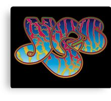 yes band logo Canvas Print