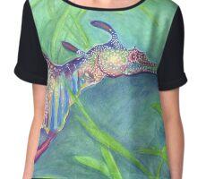 Weedy Sea Dragon Chiffon Top