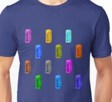 Phone booth on serenity background Unisex T-Shirt