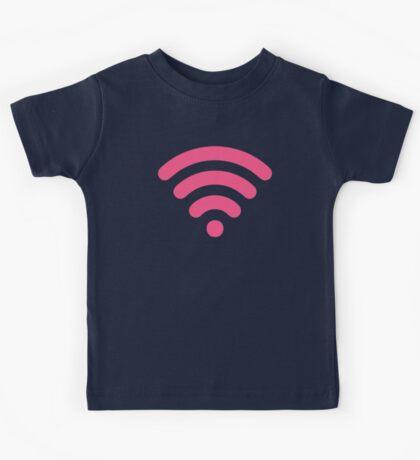 Cute Pink Wi-Fi Kids Tee