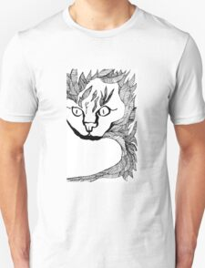 Leaf Cat Unisex T-Shirt