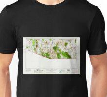 USGS TOPO Map Arizona AZ Nogales 315559 1956 250000 Unisex T-Shirt