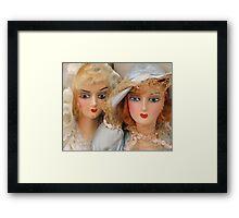 Dolls Gone Wild Framed Print