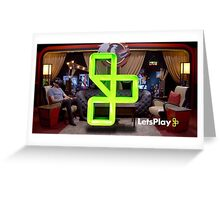 Let's Play: Gus on the Podcast Greeting Card