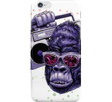 kingkong like music iPhone Case/Skin