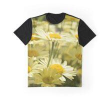 Yellow Flowers 2 Graphic T-Shirt