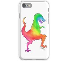 Tyrannosaurus Rainbow iPhone Case/Skin