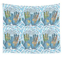 World is In Your Hands Wall Tapestry