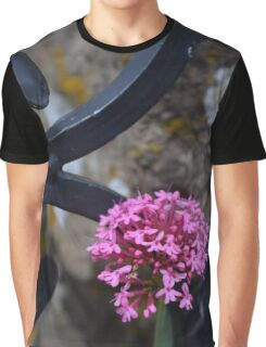 Pink Flowers 2 Graphic T-Shirt