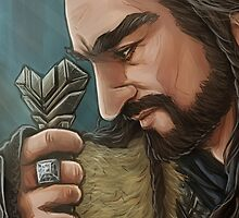 The Hobbit - Thorin Oakenshield by KumaLaLa