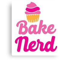 Bake nerd Canvas Print