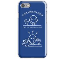 Know Your Telepath iPhone Case/Skin