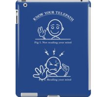 Know Your Telepath iPad Case/Skin