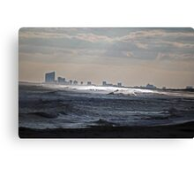 Atlantic City View Canvas Print