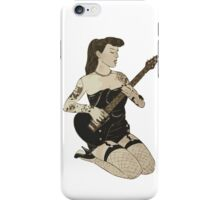 melodic woman iPhone Case/Skin
