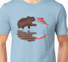 salmon eat bear Unisex T-Shirt